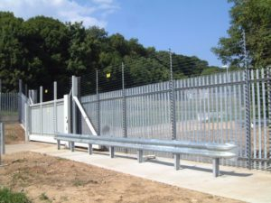 Inova Gates Installation of 10Kv Electric Fencing