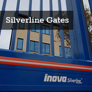 Silverline Aluminium Gates by Inova