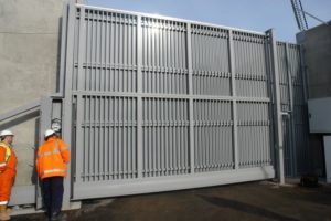 Specialist Gate Installation for EDF Energy, London Olympics